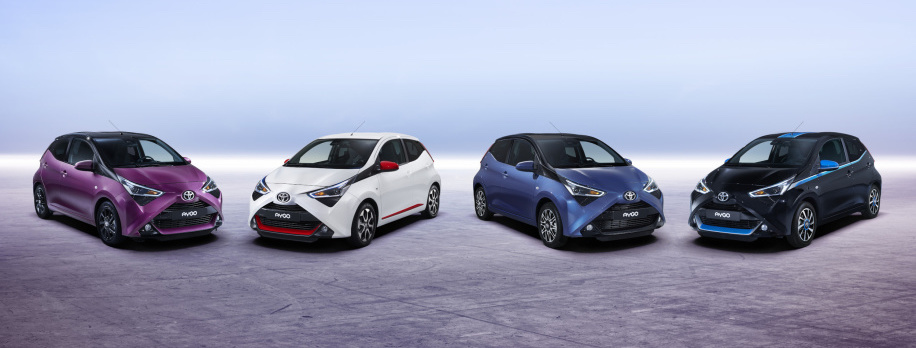 New Toyota Aygo looks like a tiny Darth Vader