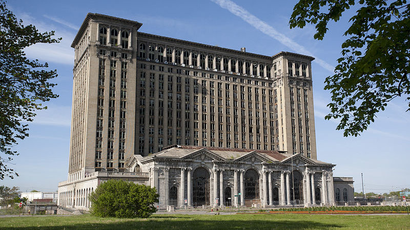 Ford reportedly interested in Detroit's infamous abandoned train depot
