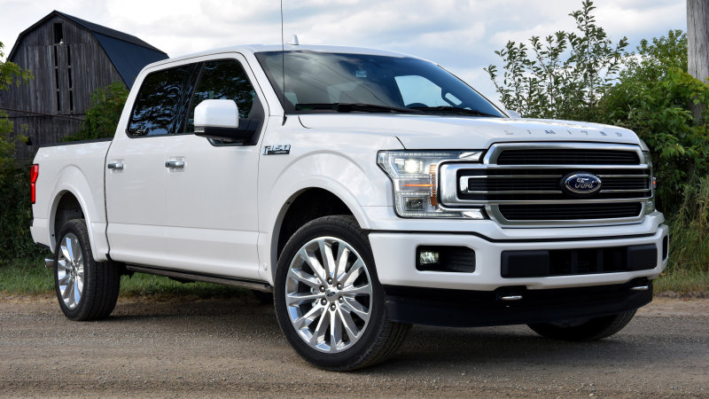 Ford recalls 350,000 trucks, SUVs for transmission issue
