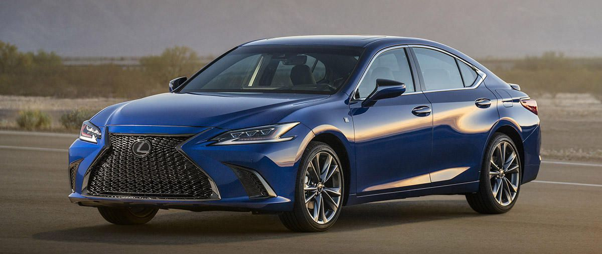 2019 Lexus ES gets new F Sport trim, Amazon Alexa and Apple CarPlay