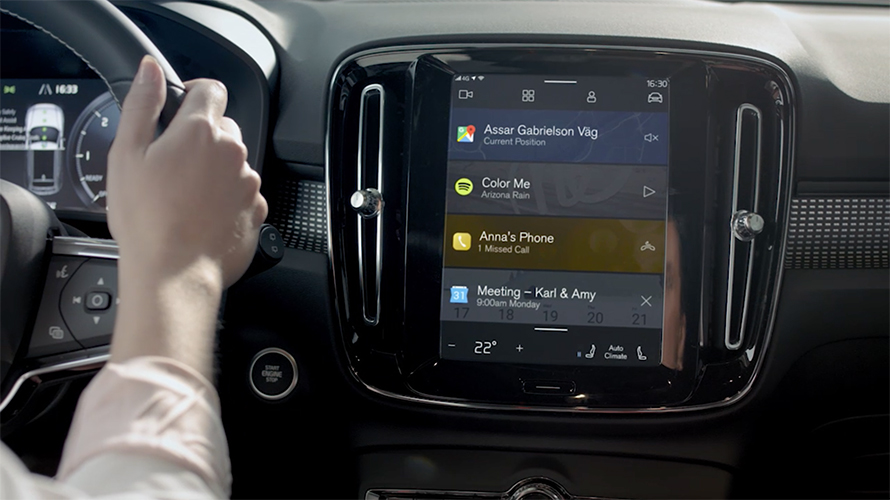 Next Volvo infotainment system will have Google Assistant