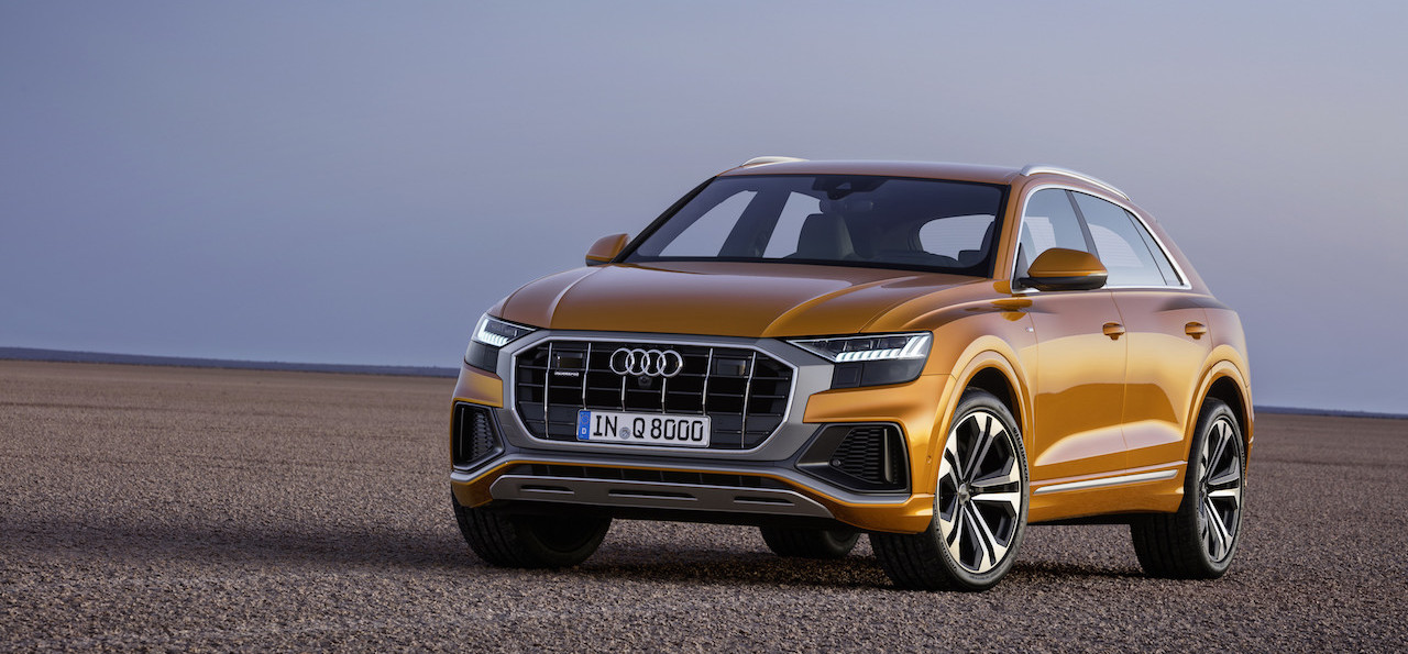 Audi reveals the new Q8 SUV: Shorter, wider, sleeker than the Q7