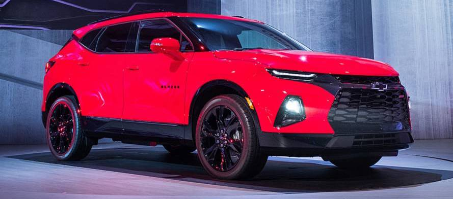 The 2019 Chevy Blazer looks like the Camaro of crossovers