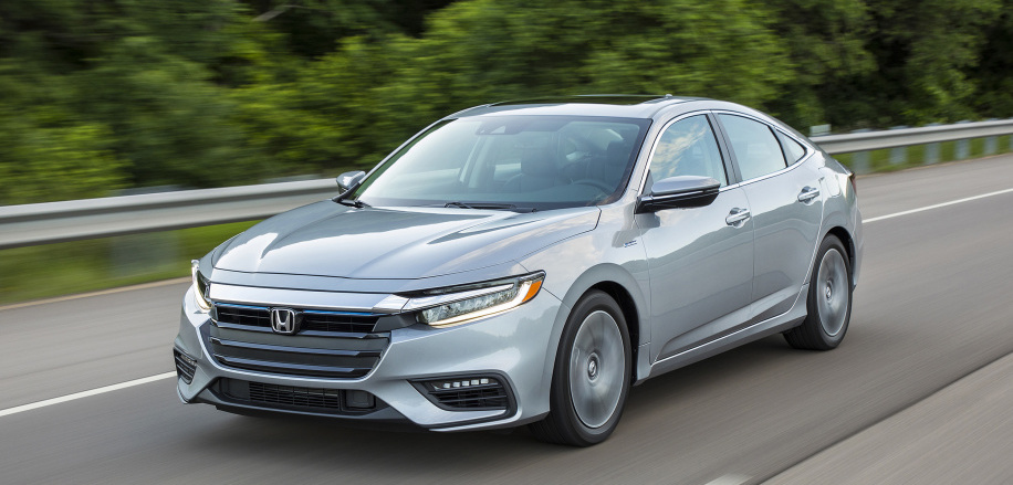 2019 Honda Insight aces IIHS crash tests, earns Top Safety Pick+
