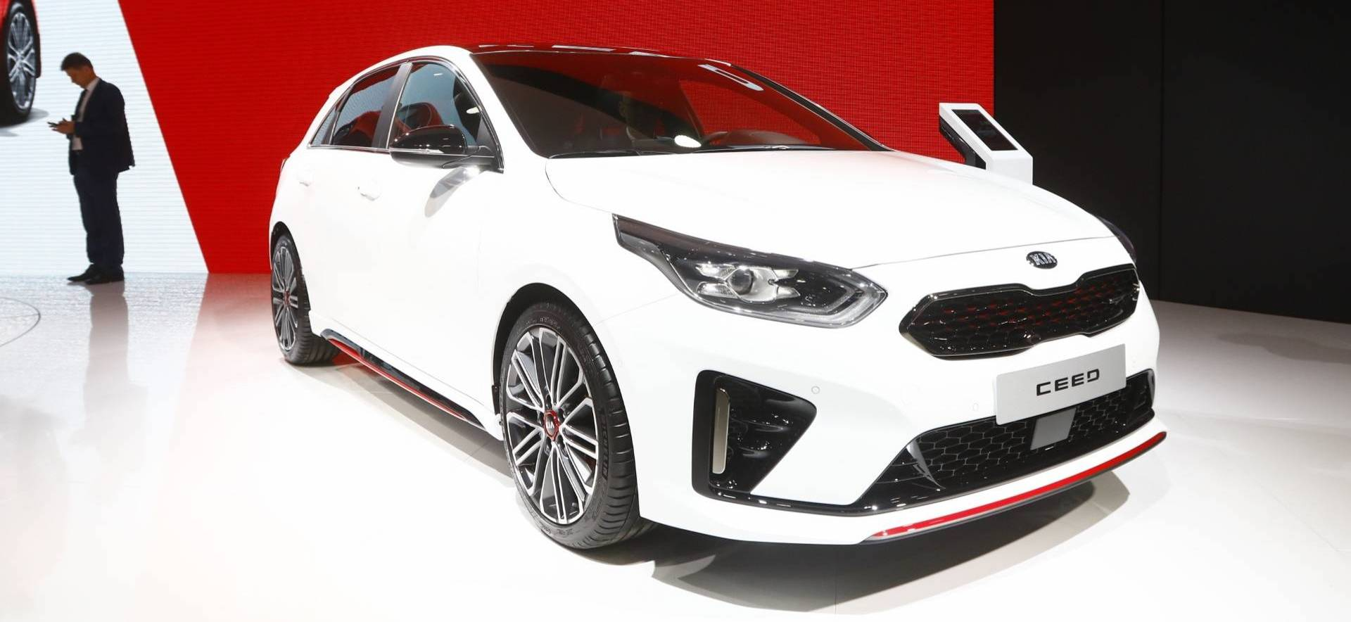 2019 Kia Ceed GT Arrives In Paris With Sporty Looks, 201 HP