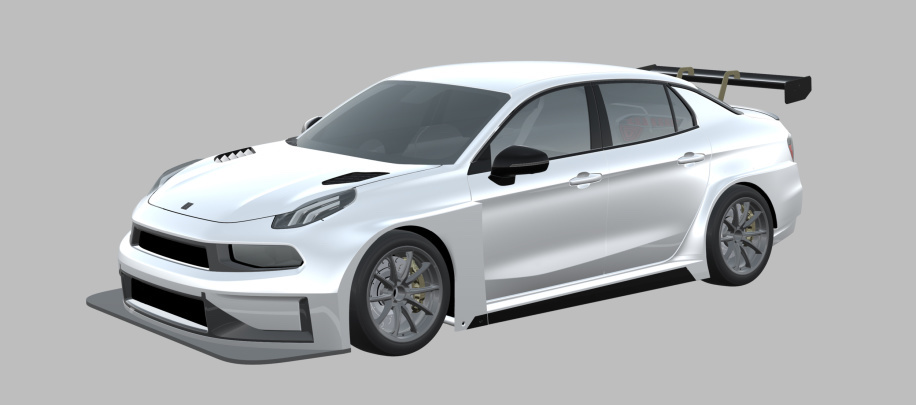 Geely presents the new Lynk & Co touring car
