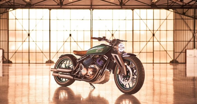 Royal Enfield shows off retro-futuristic Concept KX bike