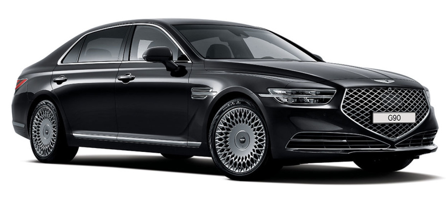 Redesigned Genesis G90 debuts with a completely new look