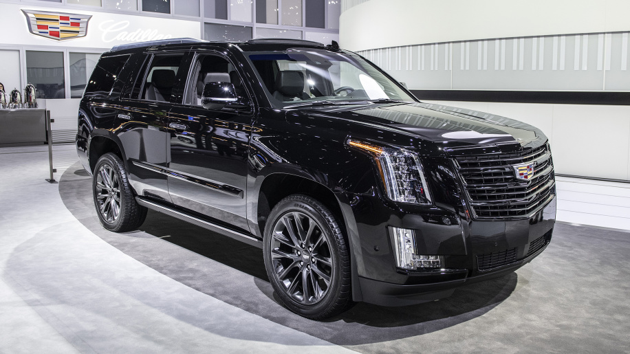 2019 Cadillac Escalade Sport Edition goes dark for the L.A. Auto Show
