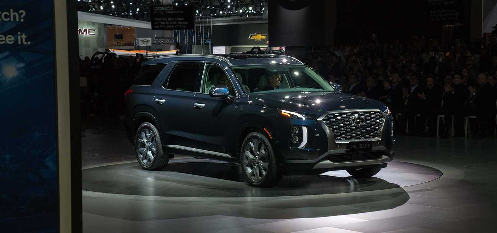 2020 Hyundai Palisade Debuts With Bold Design And 8 Seats