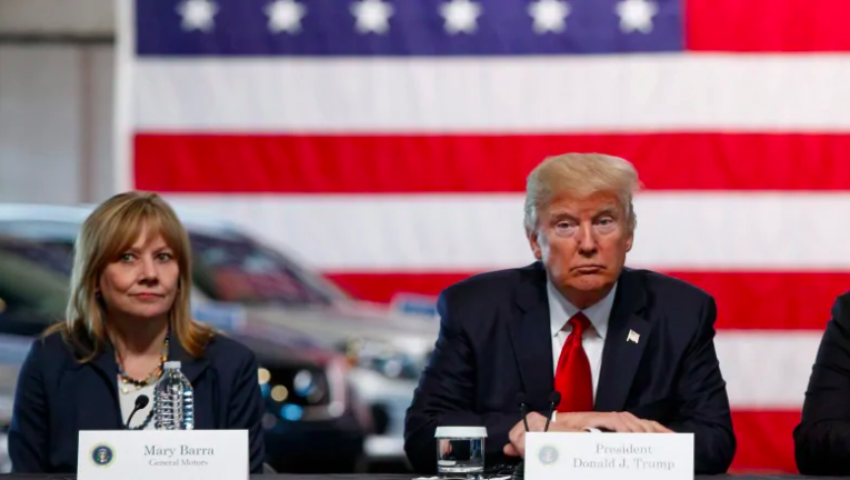 Trump says GM shift to electric vehicles is 'not going to work'