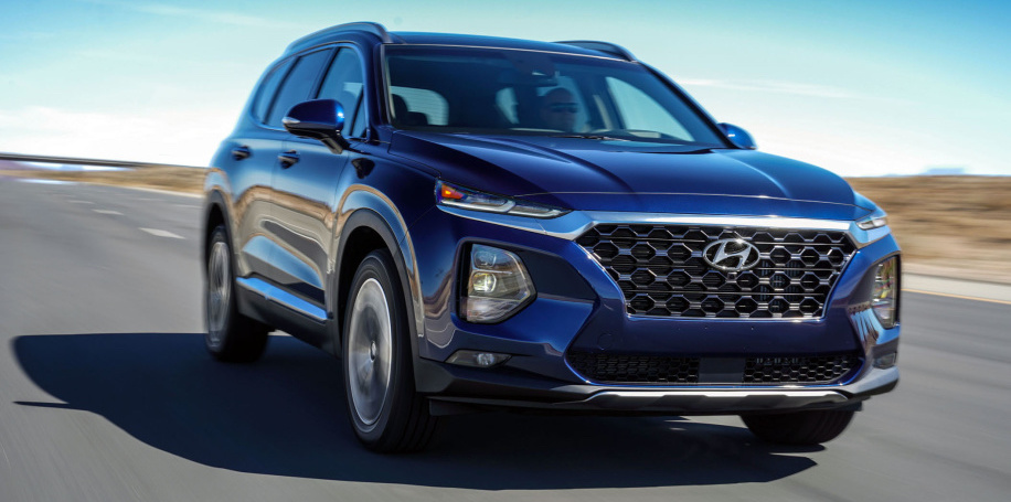 2019 Hyundai Santa Fe can be unlocked and started with a fingerprint