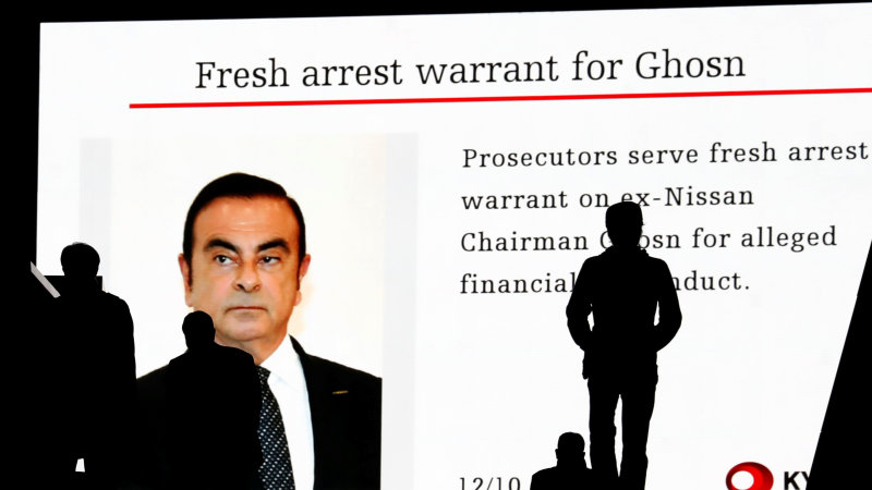 Carlos Ghosn vows to 'restore my honor' in first remarks since arrest