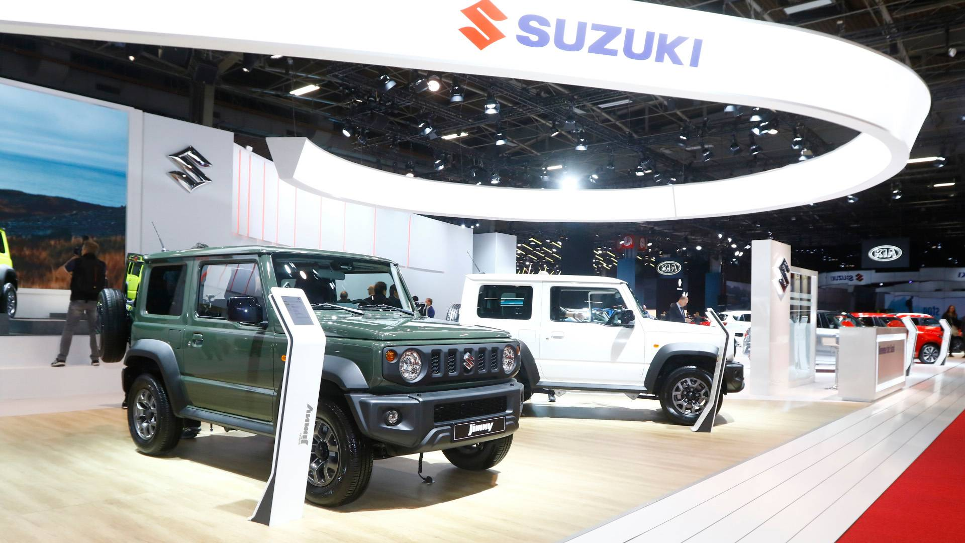 Suzuki Jimny Does A Mean Shimmy Due To Automatic Braking Fault