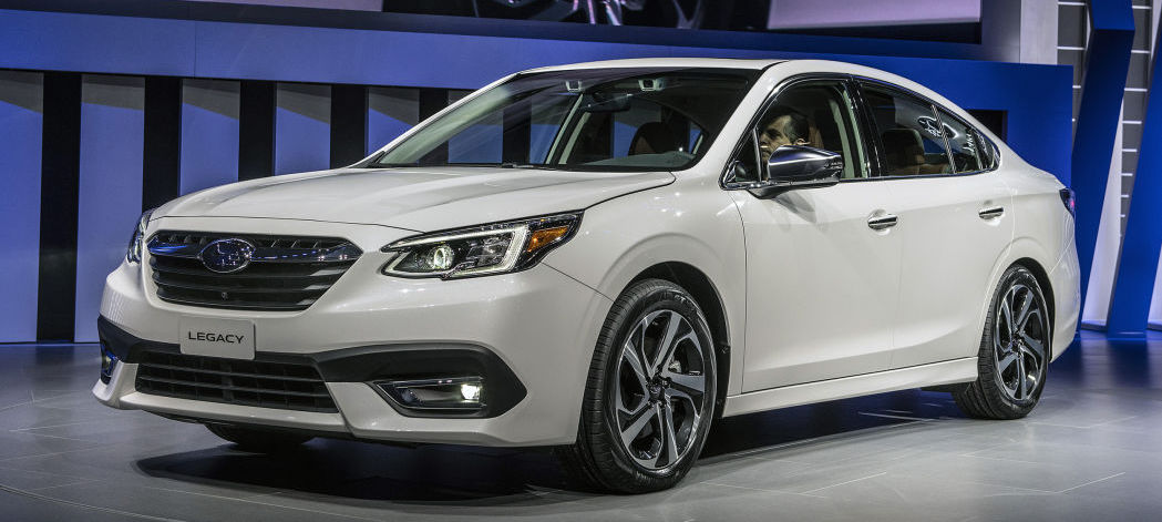 2020 Subaru Legacy revealed with sublime interior, new platform