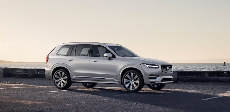 2020 Volvo XC90 refresh will add electrified 'B' variant