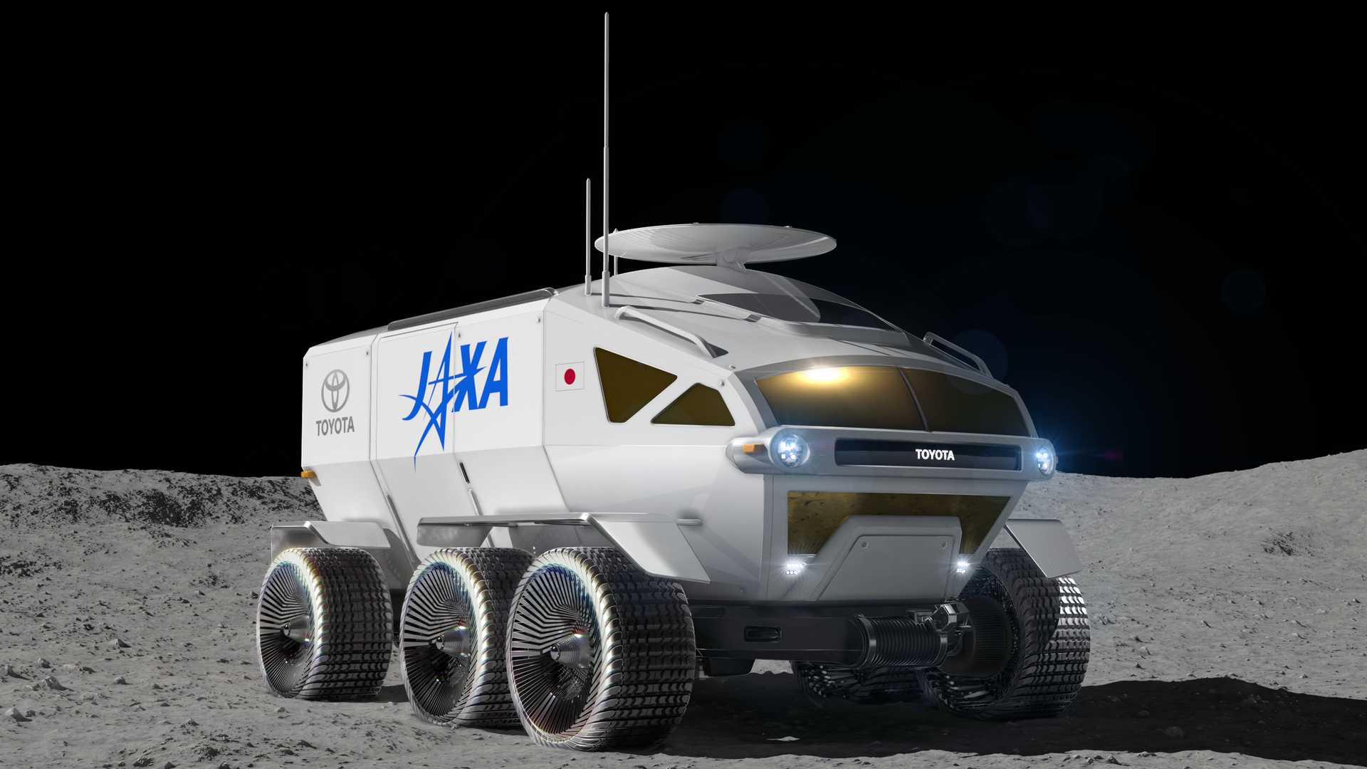 Toyota will develop a manned fuel-cell lunar rover
