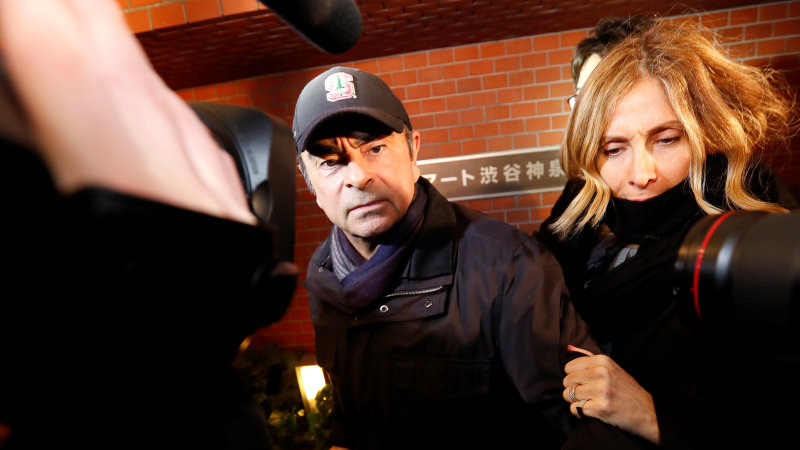 Carlos Ghosn re-arrested and thrown back in jail