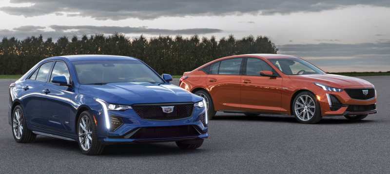 2020 Cadillac CT4-V, CT5-V revealed, less powerful than predecessors