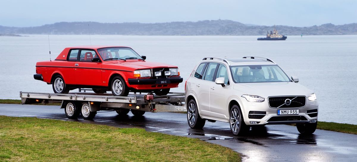 Volvos — any and all of them — now get free towing for life