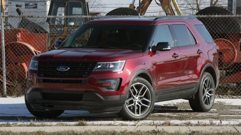Ford recalls 1.2 million Explorers for rear suspension issue