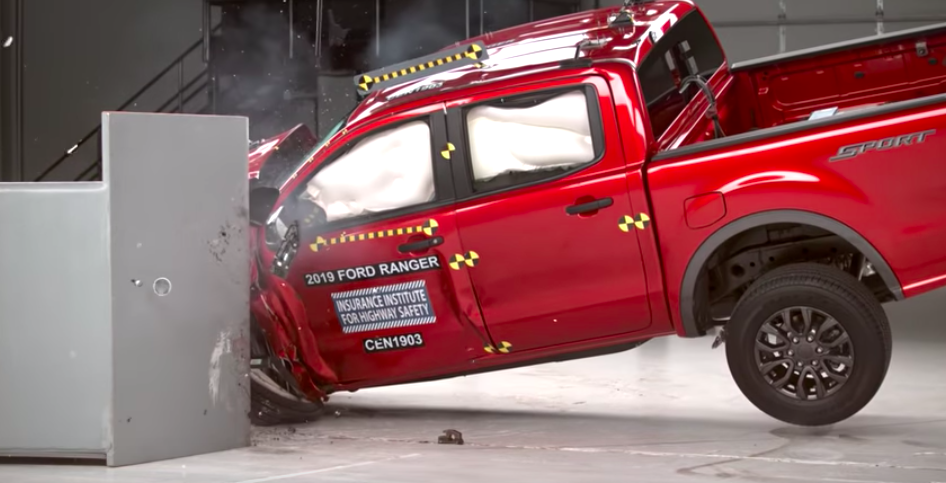 2019 Ford Ranger performs remarkably well in IIHS crash tests