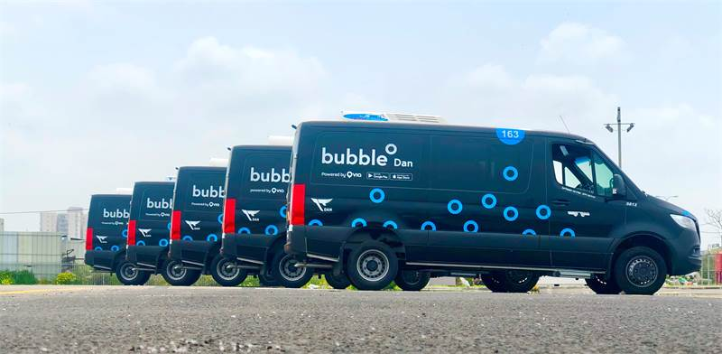 Bubble has only 2000 passengers per day