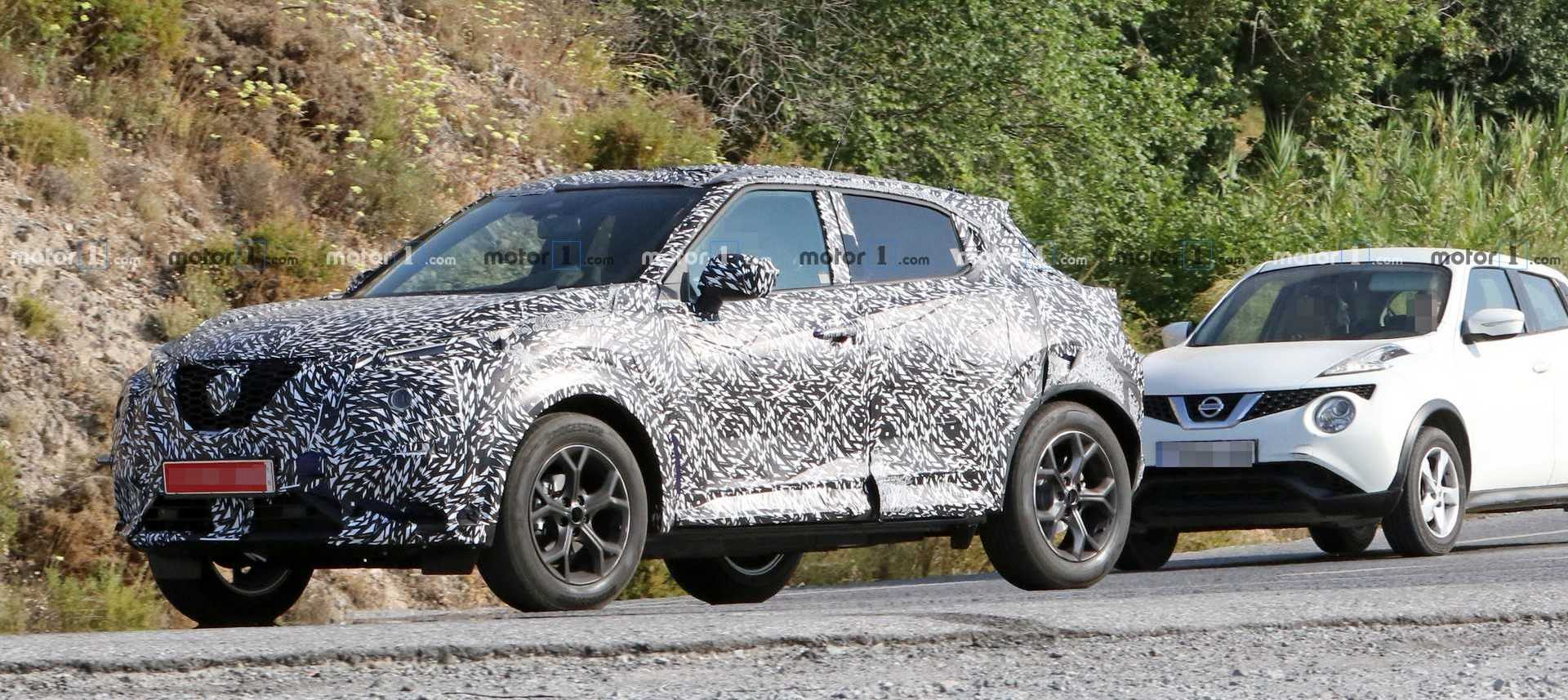 New Nissan Juke Spied Testing Together With The Current Model