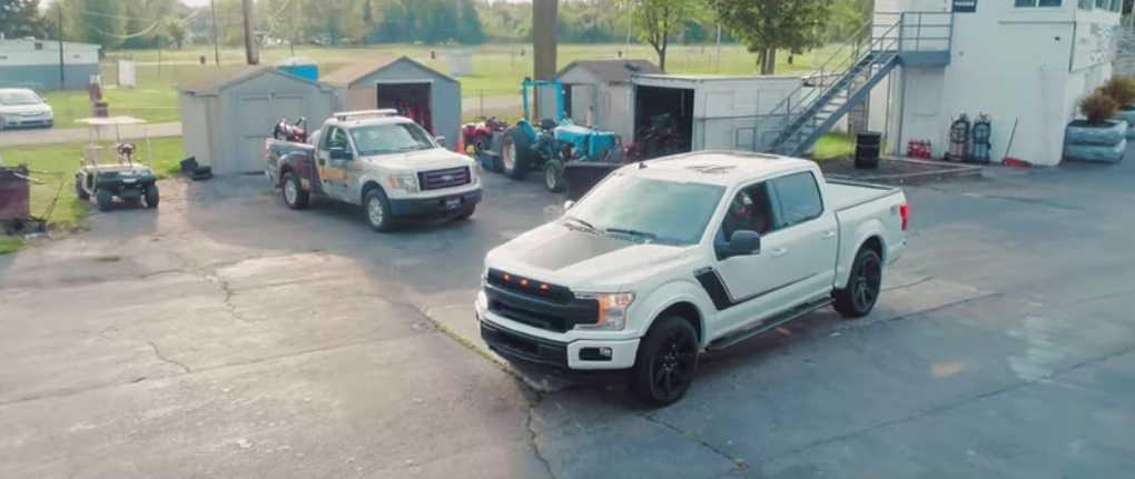 Roush Nitemare F-150 will hit 100 km/h in only 3.9 seconds