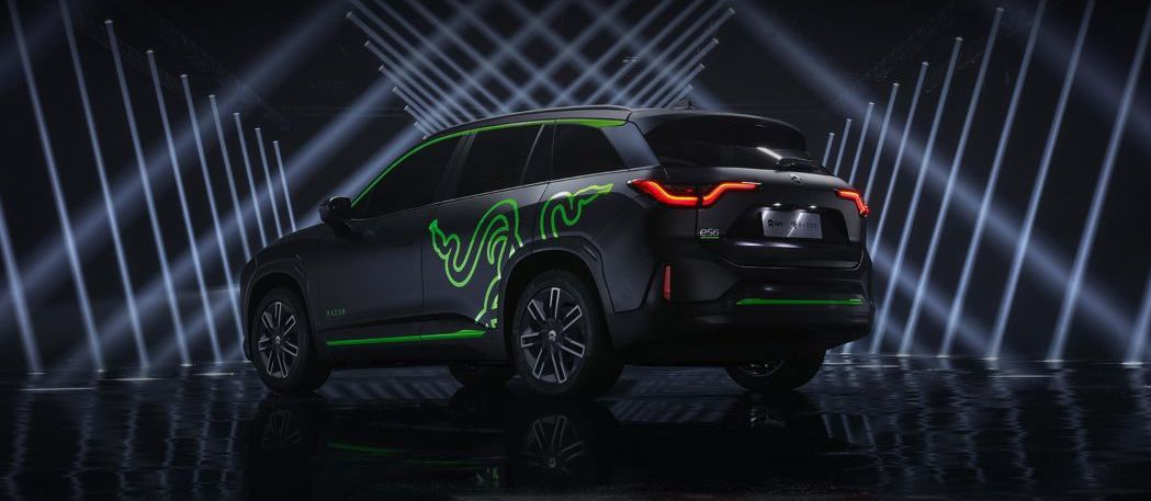 There's now a Razer electric SUV, of course