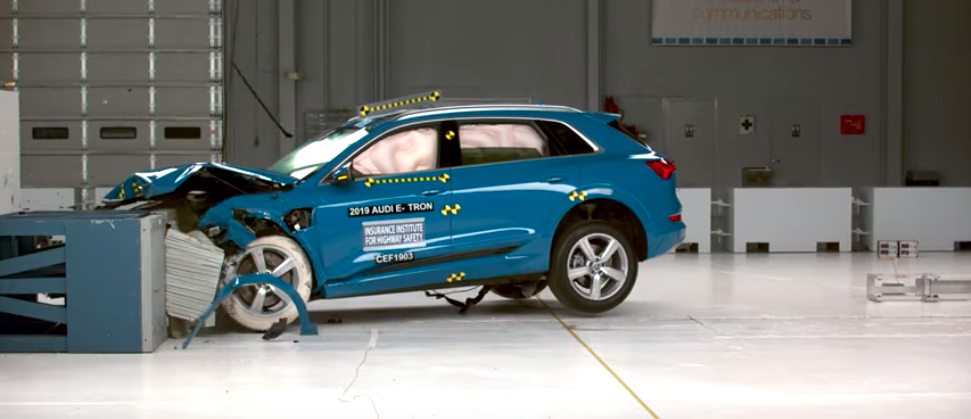 2019 Audi E-Tron becomes first EV to receive IIHS Top Safety Pick+ award