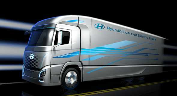 Hyundai to Test Hydrogen-Fuelled Trucks in Israel