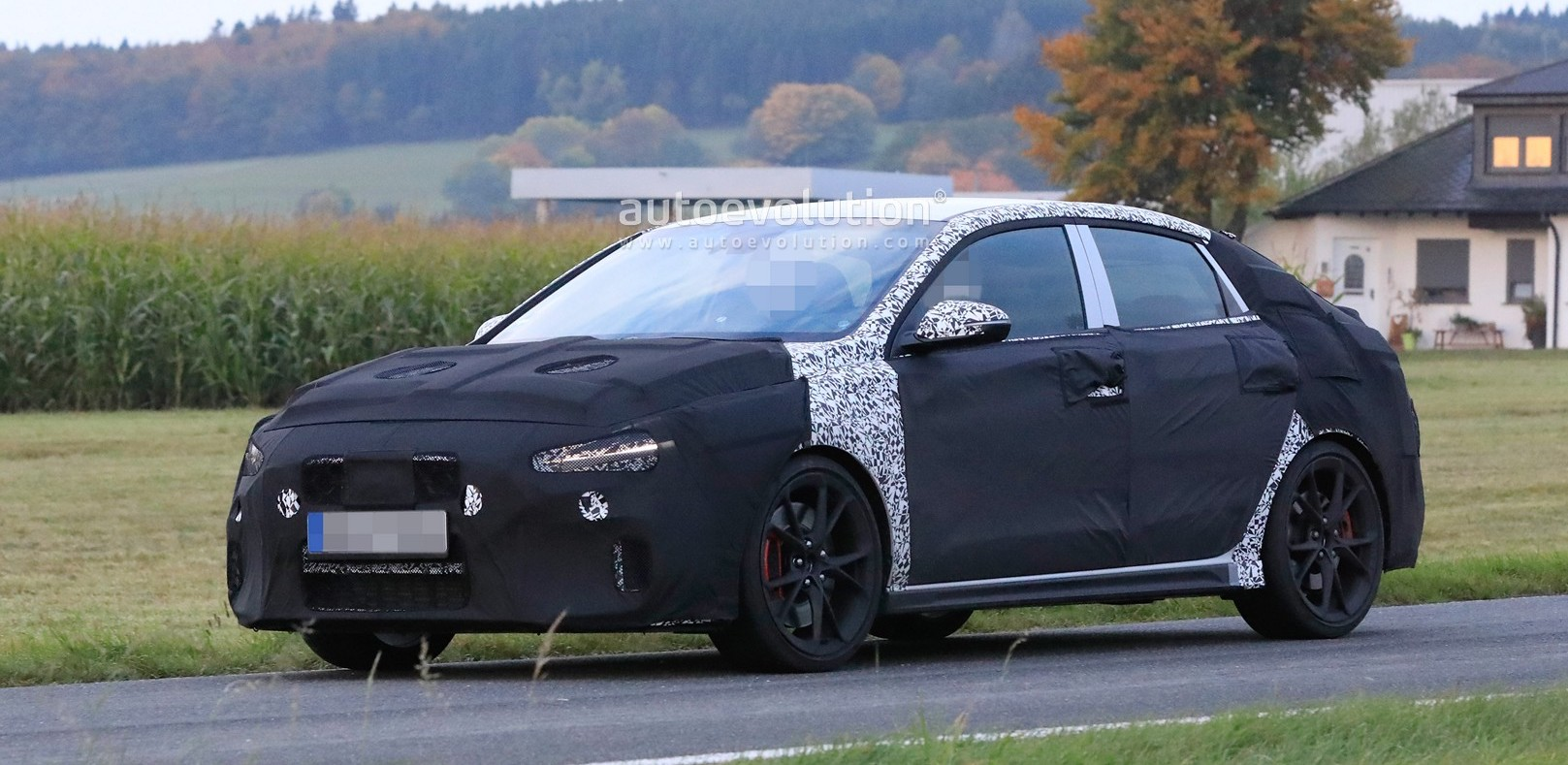 Hyundai i30 N Fastback Shows Epic Facelift Design