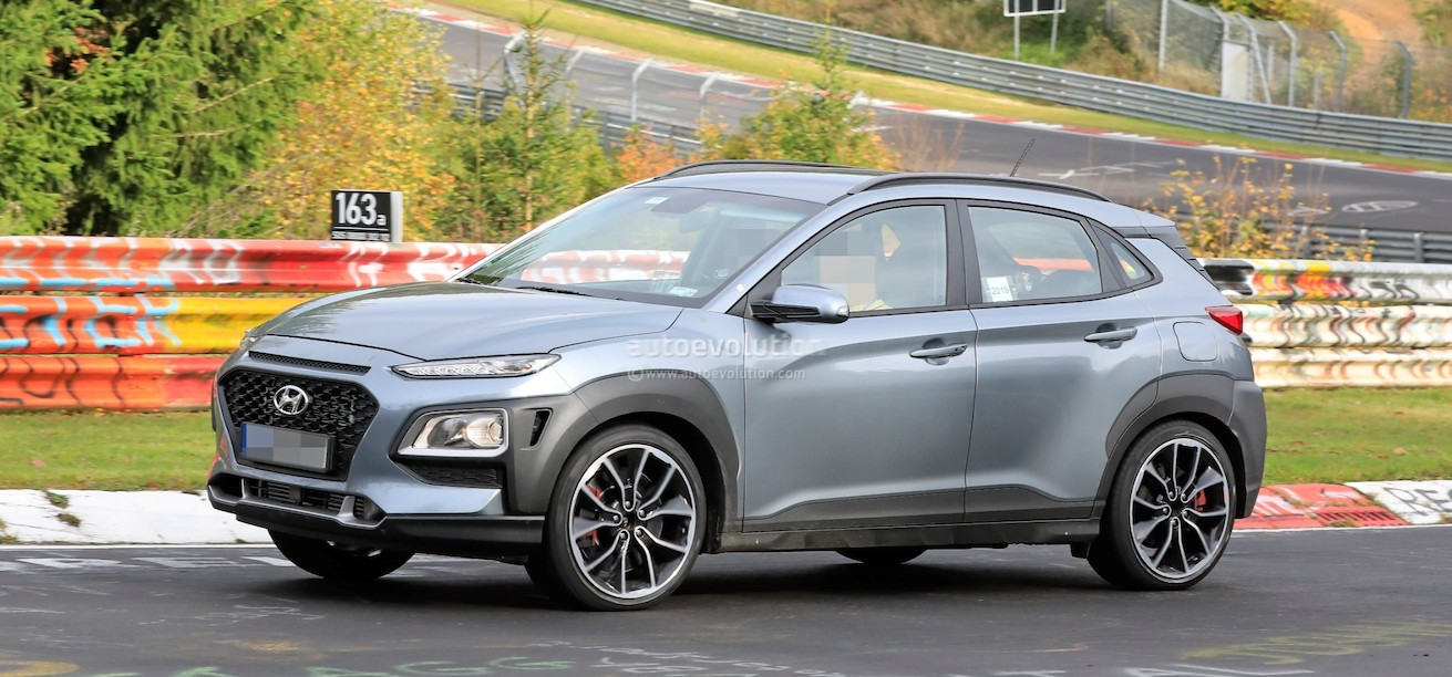 2021 Hyundai Kona N Is Real, Test Mule Features i30 N-Style Alloy Wheels
