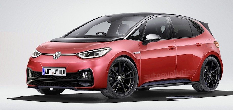 Ready for the World's First EV Hot Hatch? It Could Be This VW ID.3 GTE