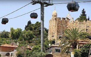 Jerusalem's Western Wall cable car approved