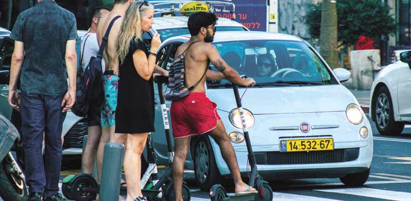 Tel Aviv imposing stiff e-scooter restrictions as injuries mount