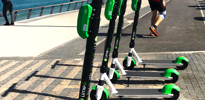 Lime Places Automatic Speed Limit on E-Scooters in Tel Aviv
