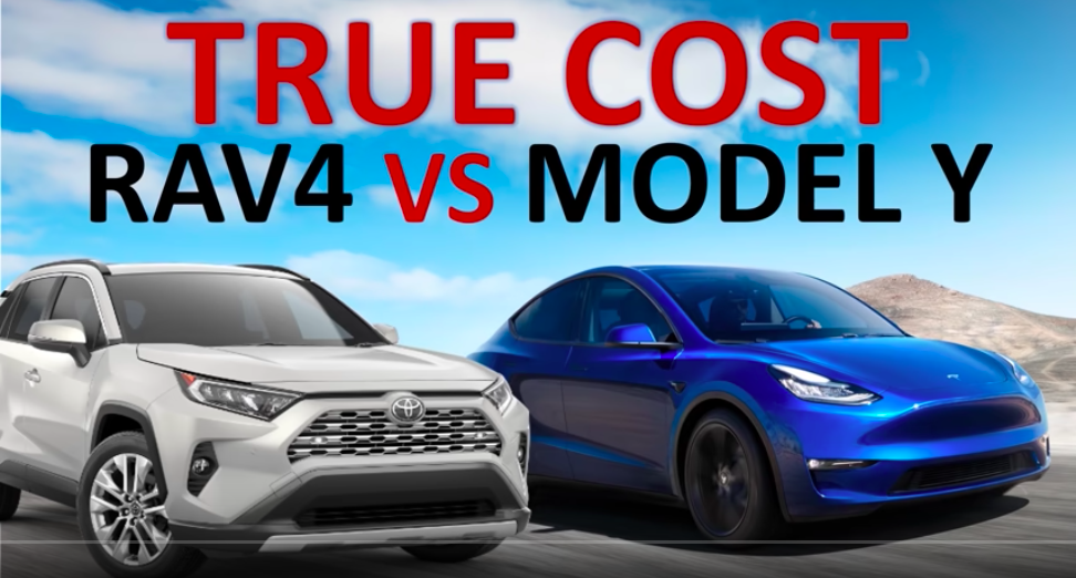 Toyota RAV4 Vs Tesla Model Y: Ownership Costs Compared