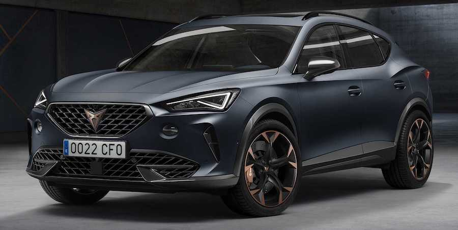 Cupra unveils Formentor crossover as brand's first bespoke model
