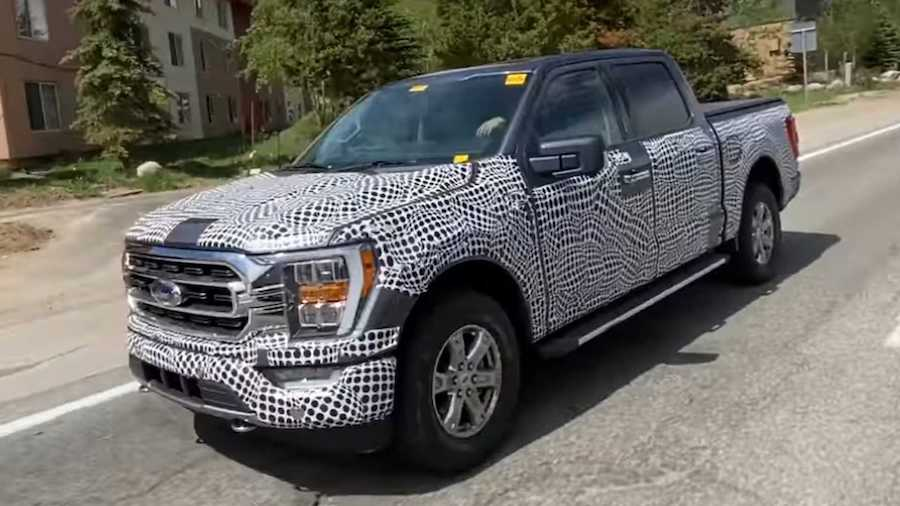 2021 Ford F-150 Spied With A New Grille, Again