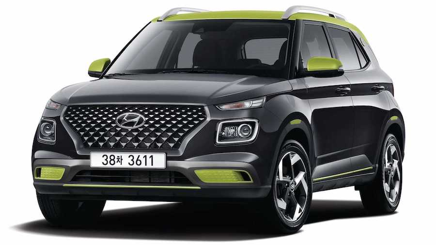 Hyundai Venue Flux Debuts With Hot-Stamped Front Grille