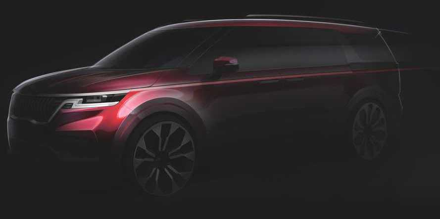 2021 Kia Sedona / Carnival Teased, New Spy Shots Emerge