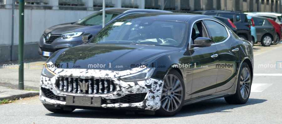 Maserati Ghibli Facelift Spied For The Last Time, Ghibli Hybrid Teased
