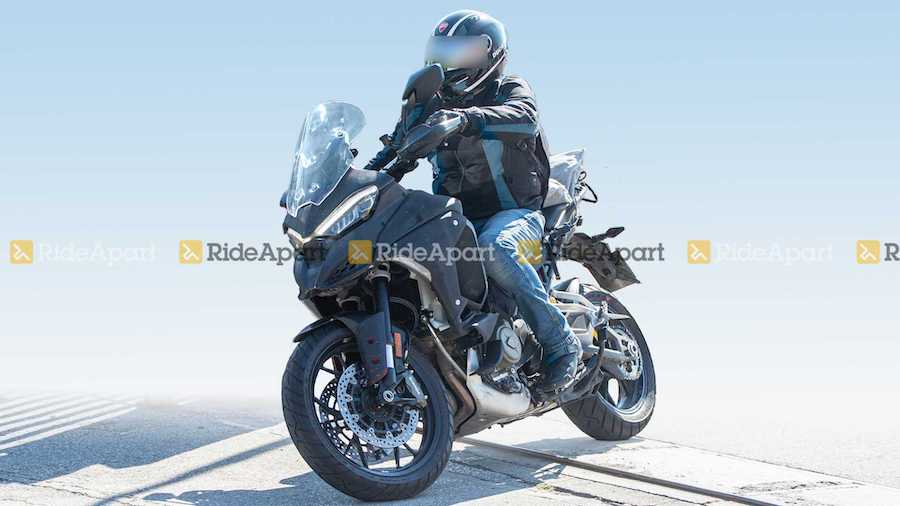 Spotted: 2021 Ducati Multistrada V4 Testing In Its Altogether