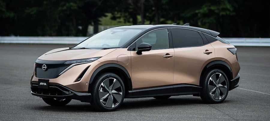 2022 Nissan Ariya Electric SUV Revealed With Up To 500 km Of Range