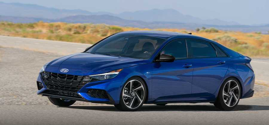 Hyundai Elantra N Line Debuts With 201 HP And Meaner Looks