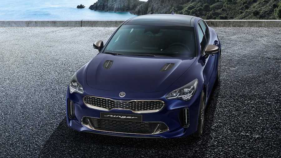 2021 Kia Stinger Revealed With Discreet Facelift, Upgraded Interior