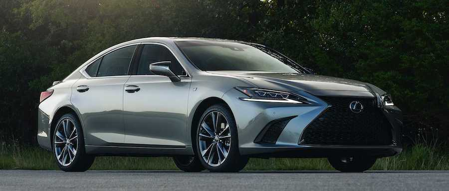 2021 Lexus ES Gets All-Wheel Drive, Limited Black Line Trim