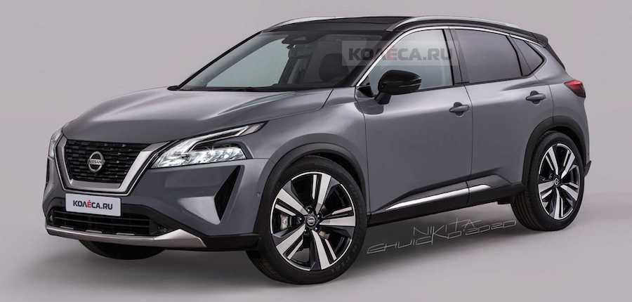 Next-Gen Nissan Rogue Sport Renderings Preview Stylish Crossover